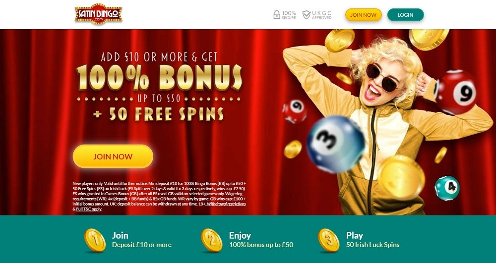Satin Bingo Website