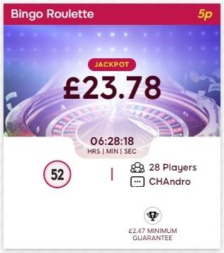 Smooch Bingo Bing Roulette