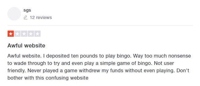 Take a Break Bingo Player Review 6