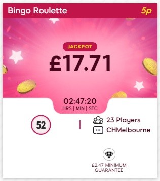 Tuck Shop Bingo Bingo Roulette