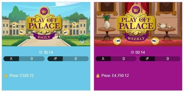 Virgin Bingo Play Off Palace