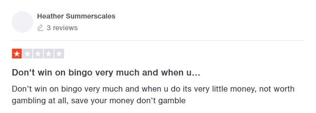 Virgin Bingo Player Review 6