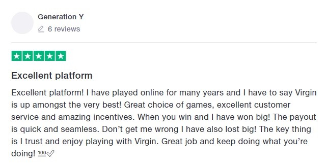 Virgin Bingo Player Review 8