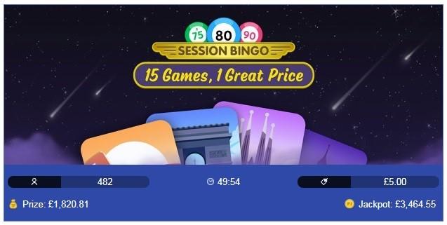 Virgin Bingo Session Bingo