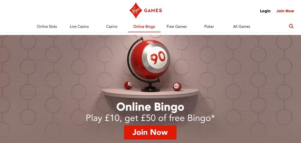 Virgin Bingo Website